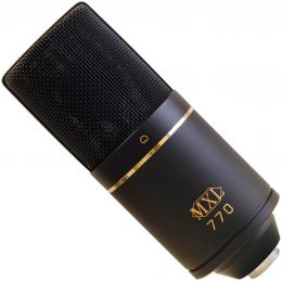 O condensador MXL 770 é um cardióide barato que aguenta bem o tranco.