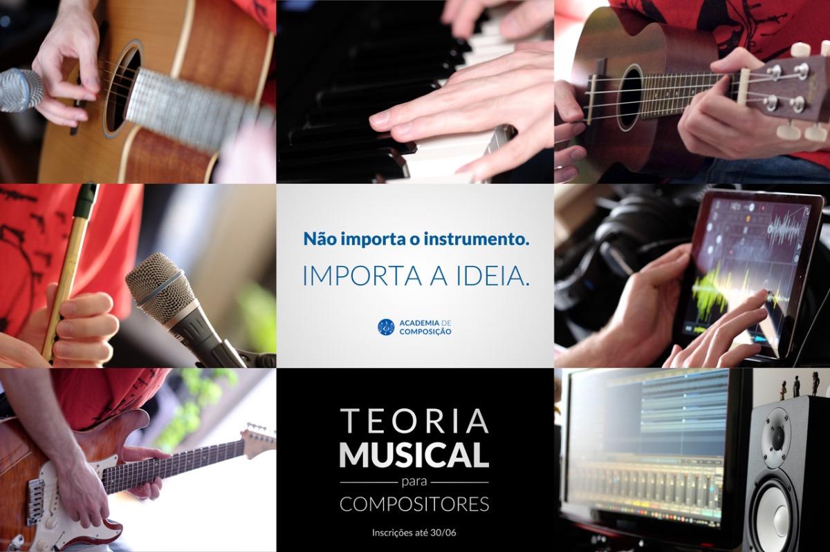 Novas inscrições para o curso Teoria Musical paraCompositores!