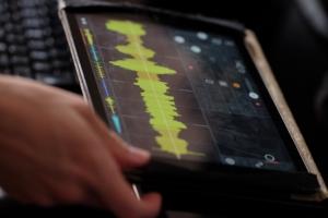 Criando música com o aplicativo Samplr