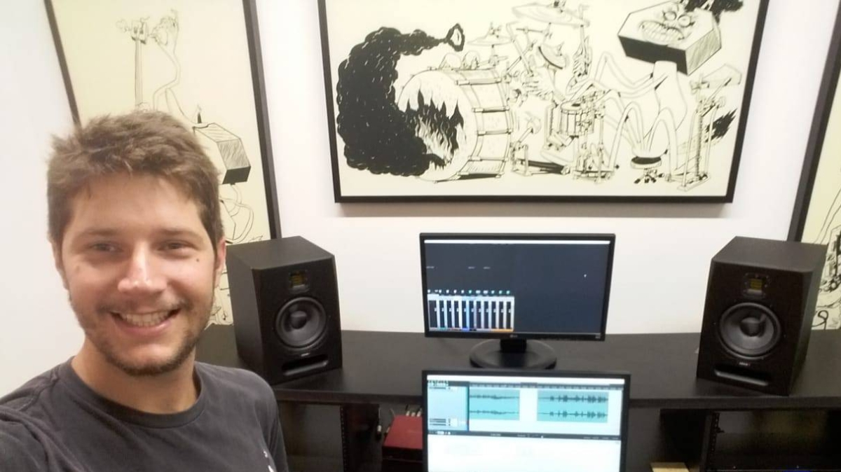 Podcast #1 – Mixagem, carreira e trilhas sonoras – Entrevista com HeitorMarin