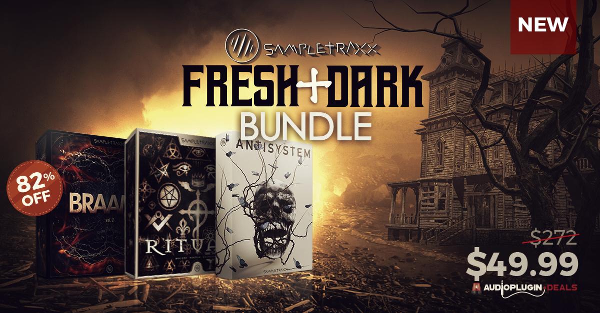 Trazendo o terror para o seu arsenal com o pacote de pluginsFresh+Dark